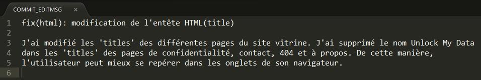 Message Commit présent dans COMMIT_EDITMSG