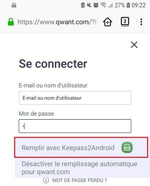 Accès à vos mots de passe depuis Firefox