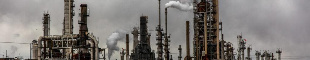 Bannière pollution