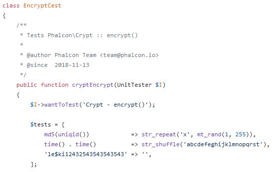 Lire les tests de Phalcon et devient un·e meilleur·e développeur·se