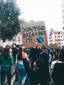 Manifestation pour la planète