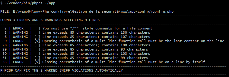 Qu est-ce que PHP CodeSniffer - PHPCS