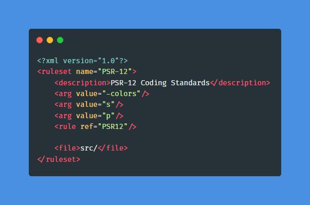 phpcs.xml.dist exemple