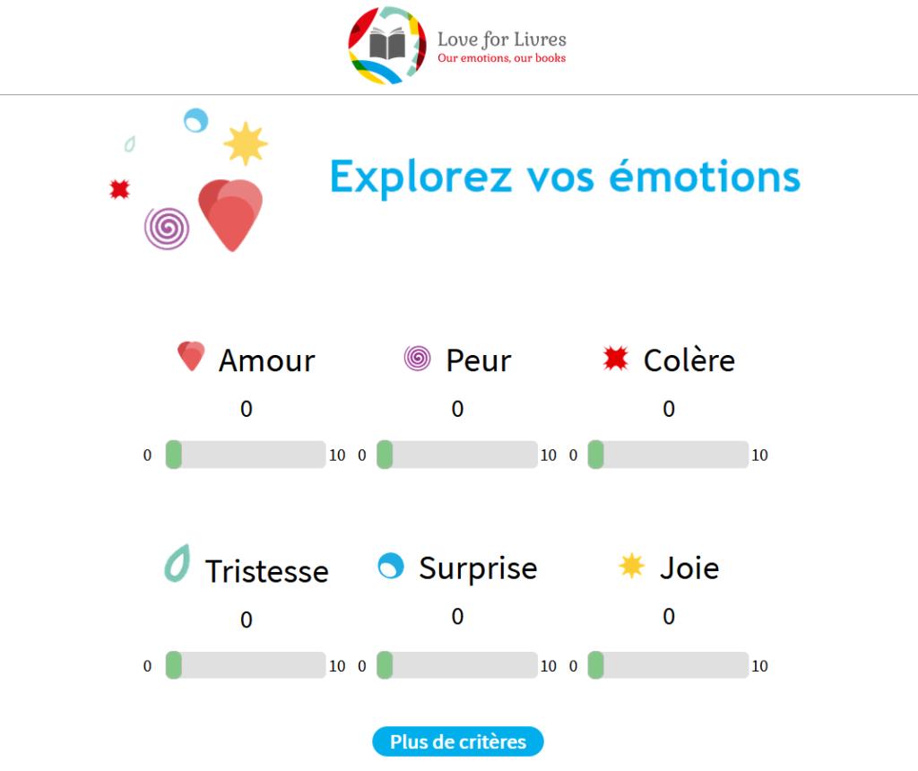 Explorez vos émotions avec Love for Livres