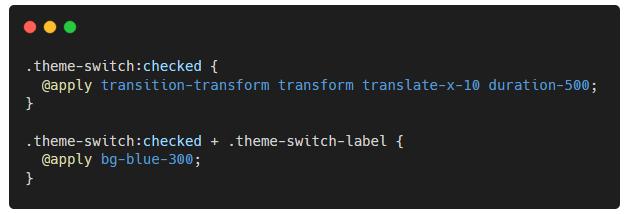 Style CSS - Transformation - changement thème