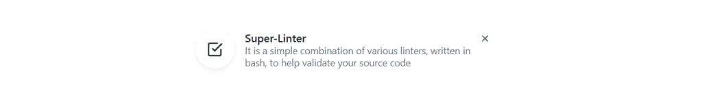 Comment fonctionne GitHub Super Linter