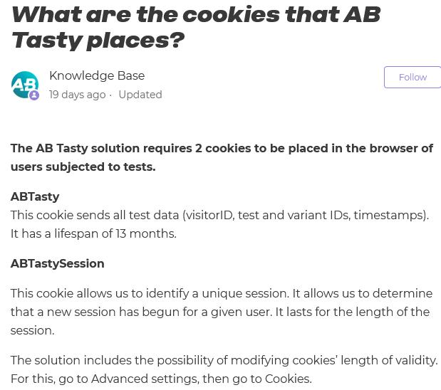 AB Tasty - explication