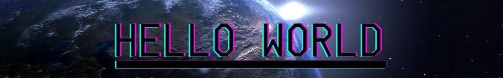 Bannière Hello World